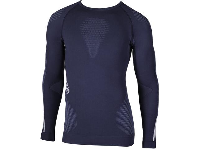 UYN Ambityon UW T-shirt à manches longues Homme, deep blue/avio/white